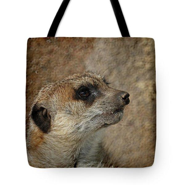 Meerkat 3 Tote Bag by Ernie Echols