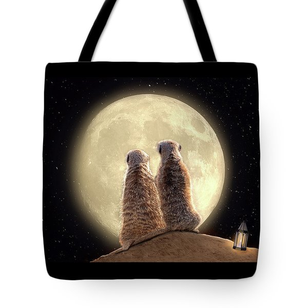 Meerkat Moon Tote Bag