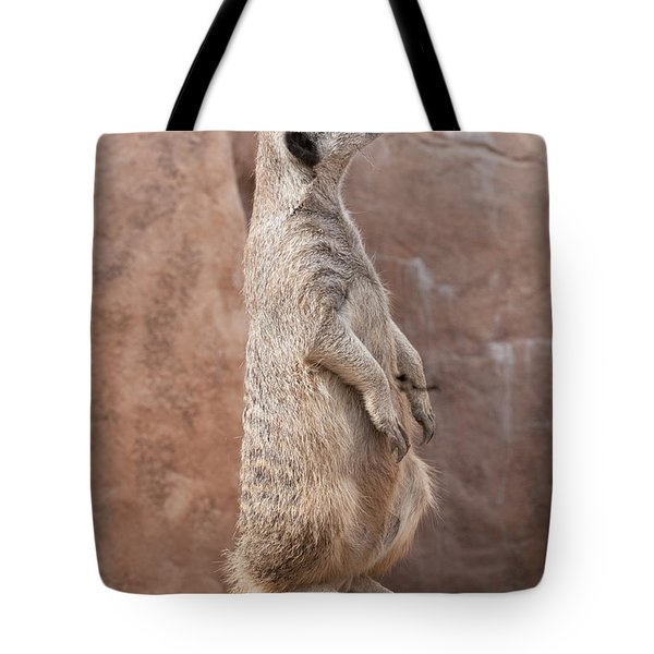 Meerkat Sentry 3 Tote Bag