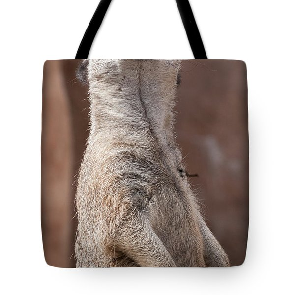 Meerkat Sentry 4 Tote Bag