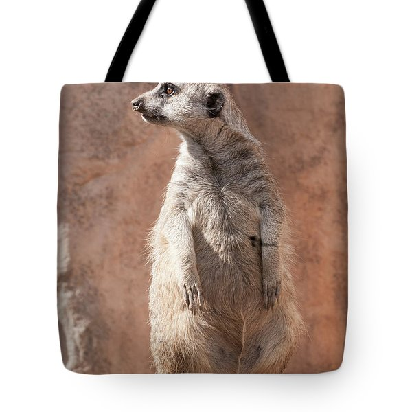 Meerkat Sentry 5 Tote Bag