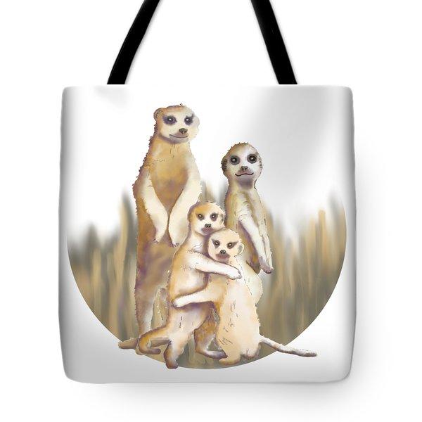 Meerkats  Tote Bag