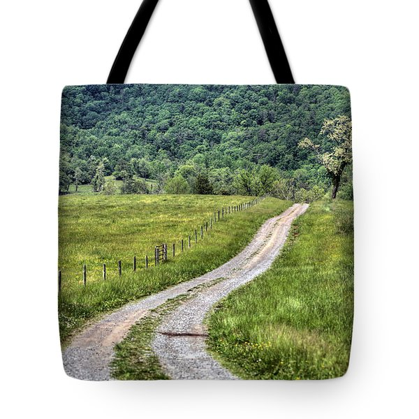 Meet Me At The Tree Tote Bag by JC Findley
