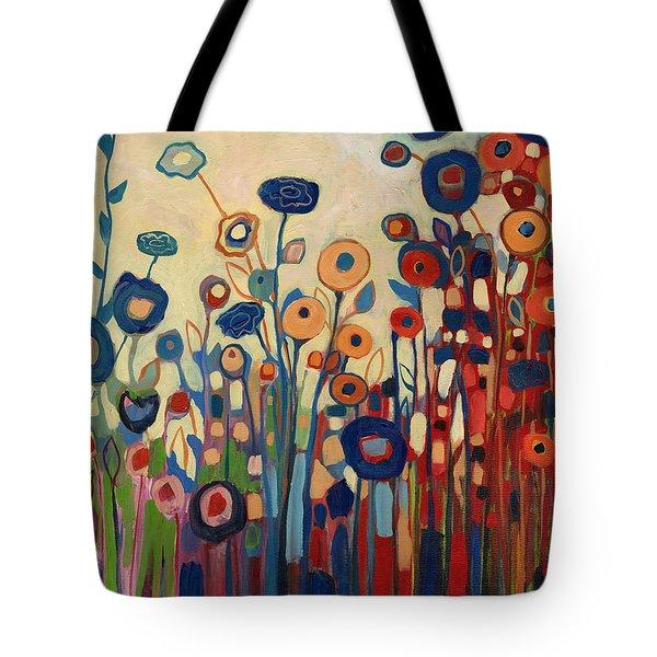 Meet Me In My Garden Dreams Tote Bag