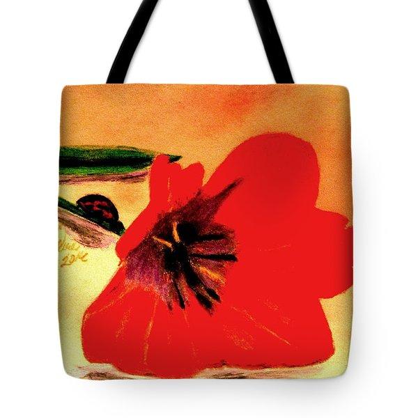 Meet Me In The Tulips Tote Bag