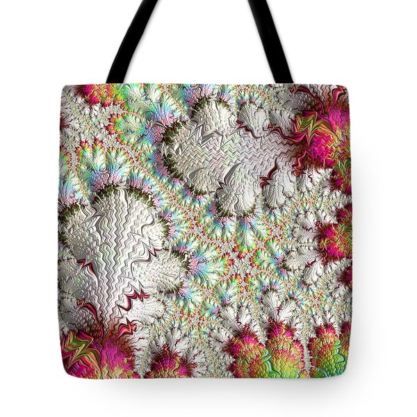 Tote Bag featuring the digital art Meet The Family by Michele A Loftus