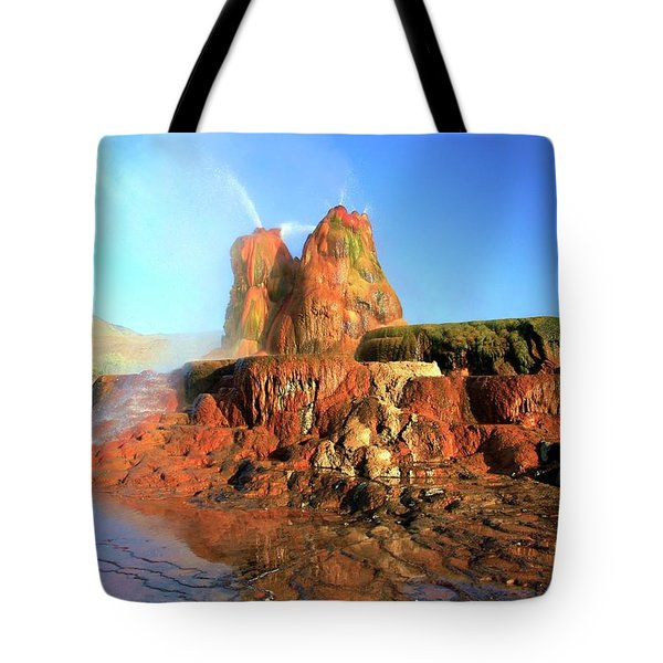 Meet The Fly Geyser Tote Bag