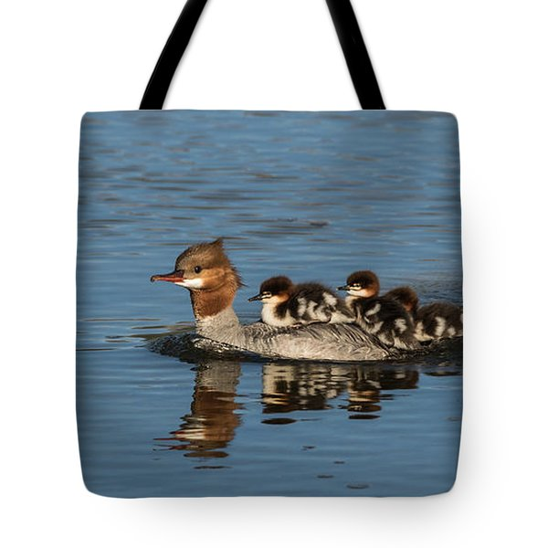 Meet The Mergansers Tote Bag
