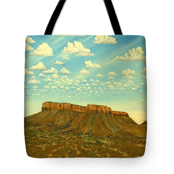 Meet The Posse At Little Crooked Mesa Tote Bag