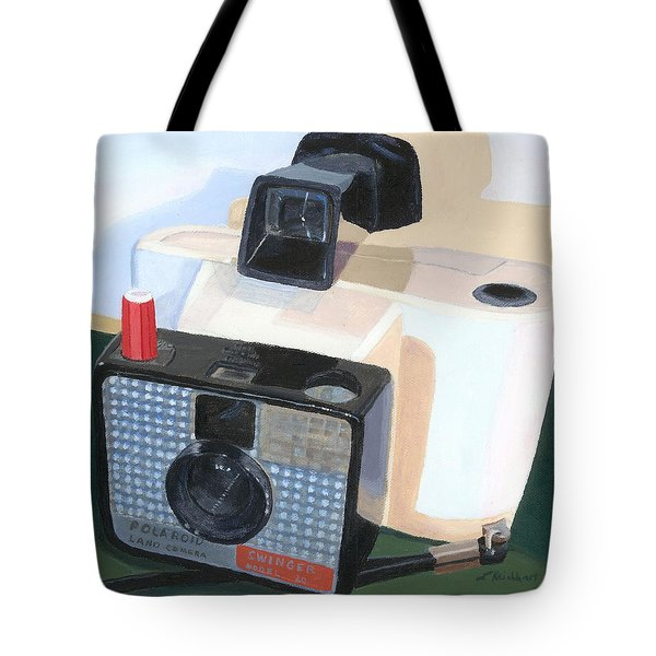 Tote Bag featuring the painting Meet The Swinger by Lynne Reichhart
