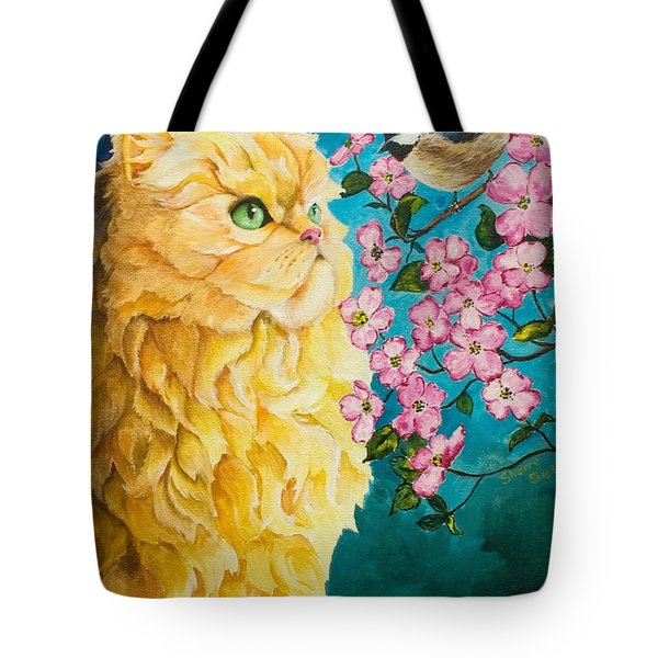 Meeting Eye To Eye Tote Bag