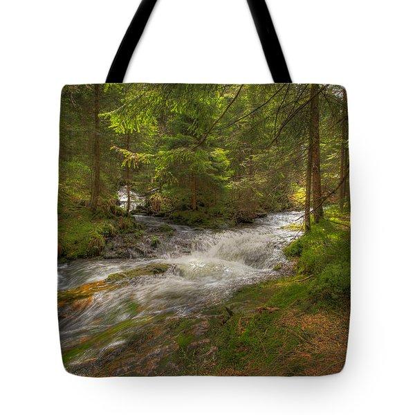 Meeting Of The Streams Tote Bag