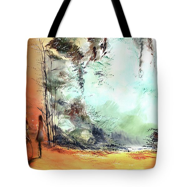 Meeting On A Date Tote Bag