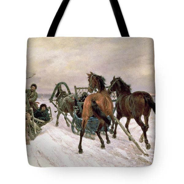 Meeting Tote Bag by Pawel Kowalewsky