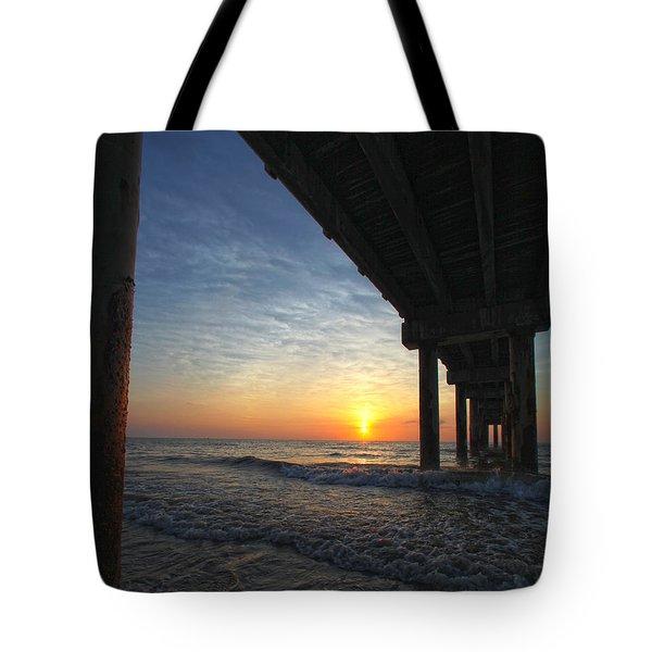 Meeting The Dawn Tote Bag