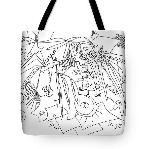 Meeting Under The Stars Tote Bag