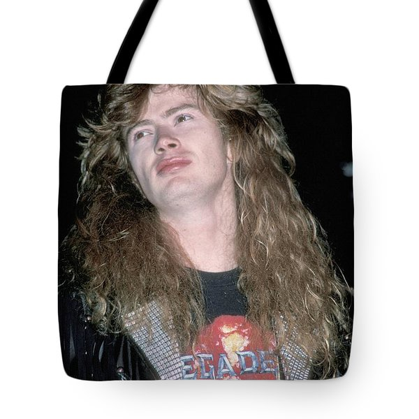 Megadeth Dave Mustaine Tote Bag