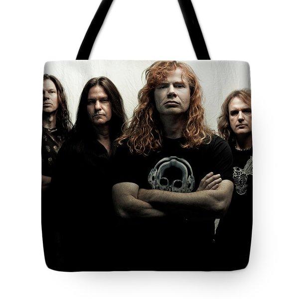 Megadeth Tote Bag