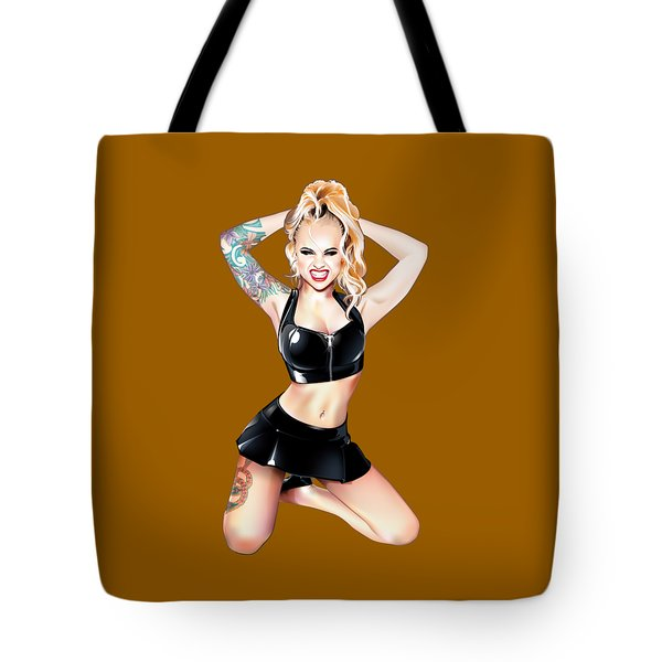 Megan 2 Tote Bag by Brian Gibbs