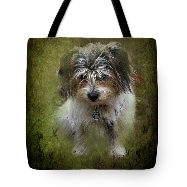 Tote Bag featuring the photograph Megan by Elaine Teague