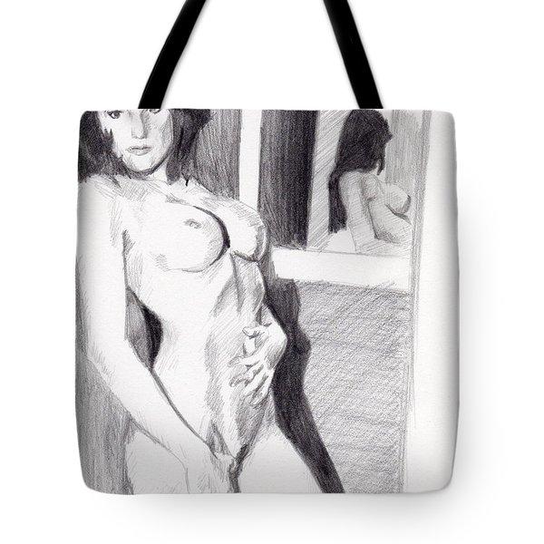 Megan-mirror Tote Bag