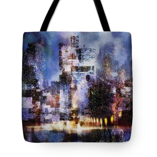 Megapolis II Tote Bag