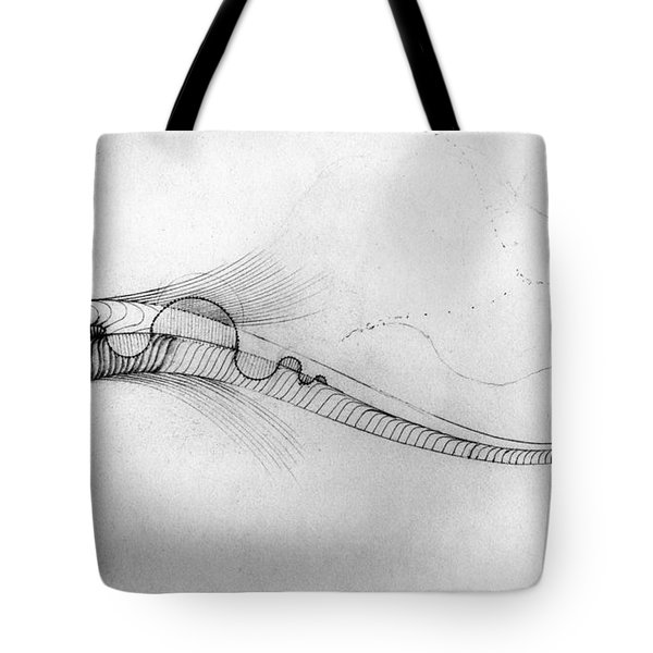 Megic Fish 2 Tote Bag by James Lanigan Thompson MFA