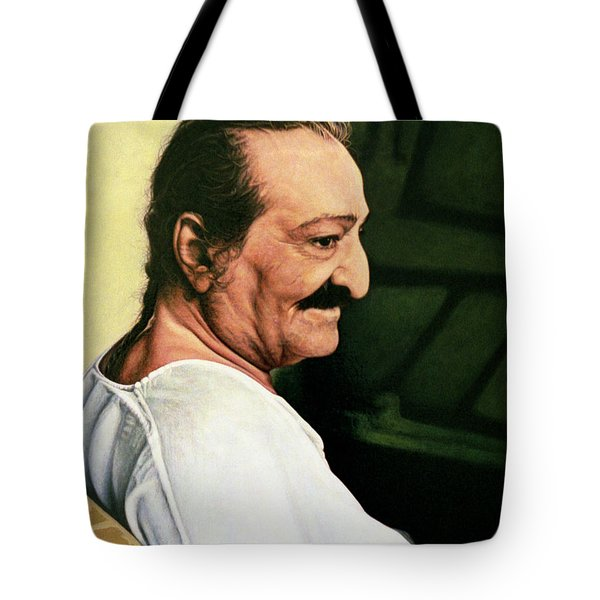 Meher Baba 3 Tote Bag by Nad Wolinska