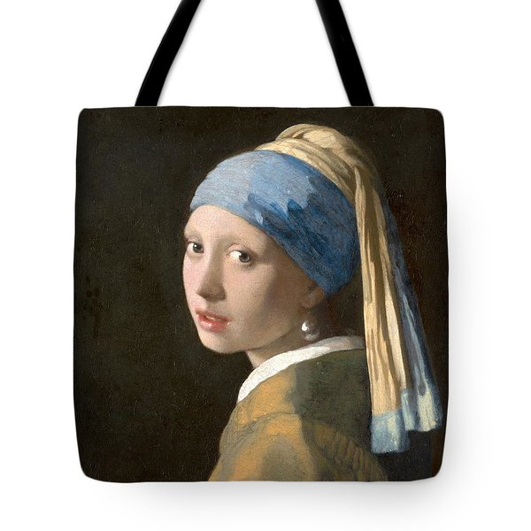 Meisje Met De Parel Tote Bag