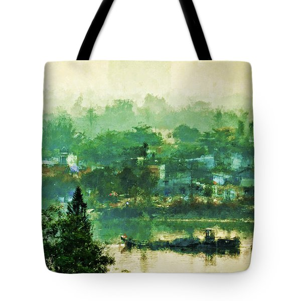Mekong Morning Tote Bag