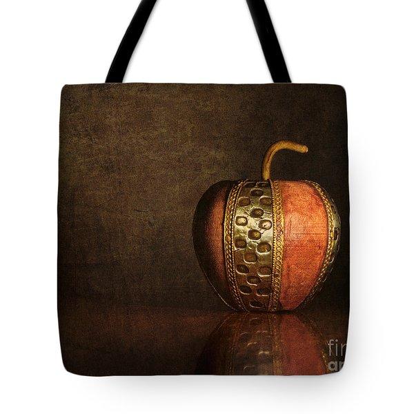 Mela In Metallo Tote Bag by Mark Miller