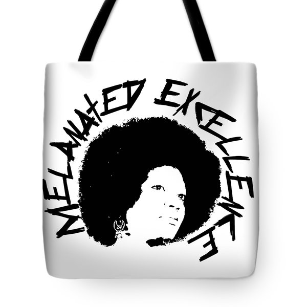 Melanated Excellence I Tote Bag