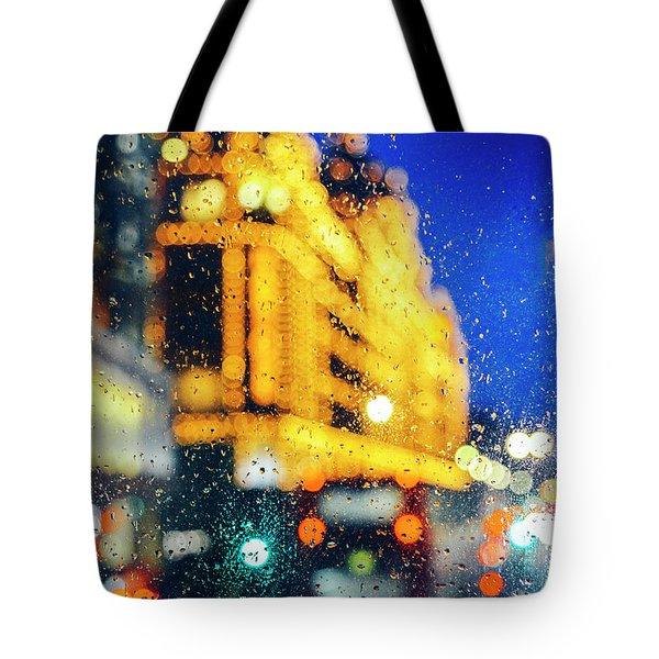Melancholic London Lights  Tote Bag