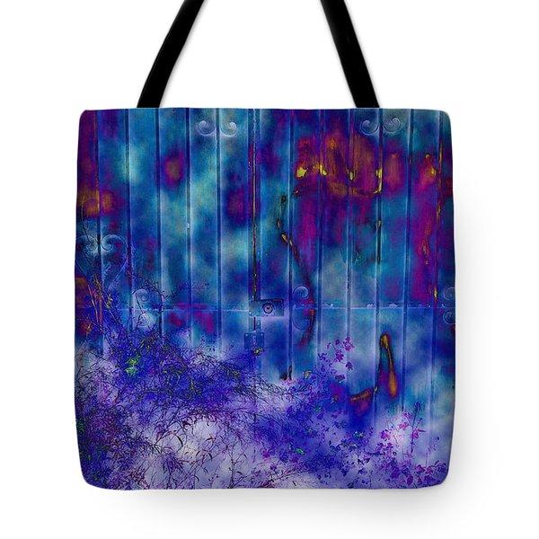 Melancholy Blue Tote Bag