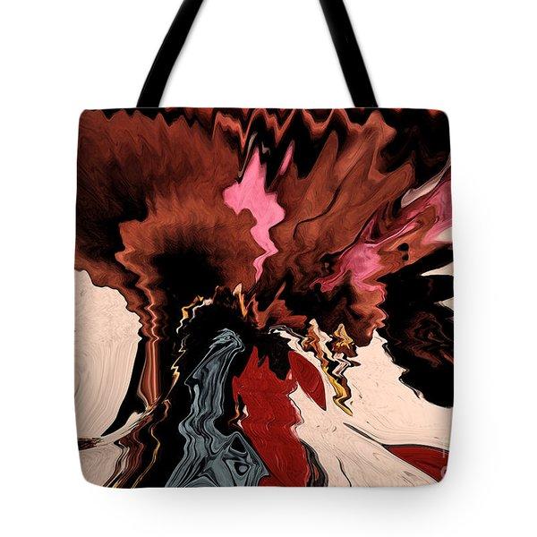 Tote Bag featuring the digital art Melange Of Colors  by Gerlinde Keating - Galleria GK Keating Associates Inc