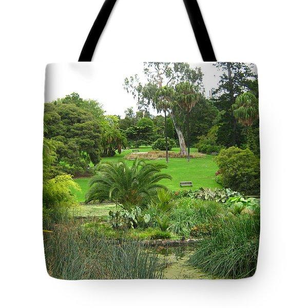 Melbourne Botanical Gardens Tote Bag