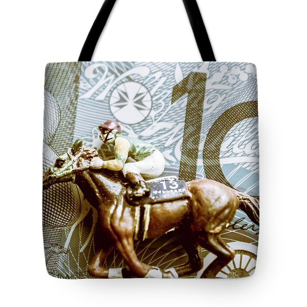 Melbourne Cup Wager Tote Bag