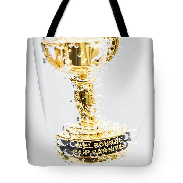 Melbourne Cup Winners Trophy Tote Bag