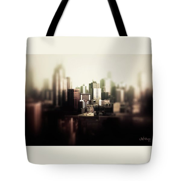 Melbourne Towers Tote Bag by Joseph Westrupp