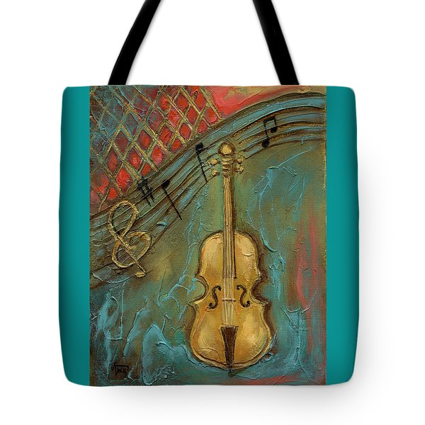 Mello Cello Tote Bag