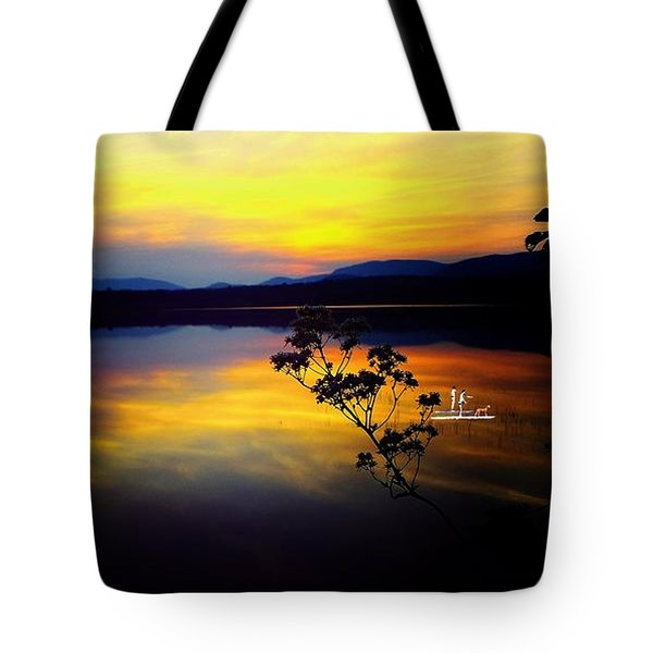 Mellow Moments In New England Tote Bag