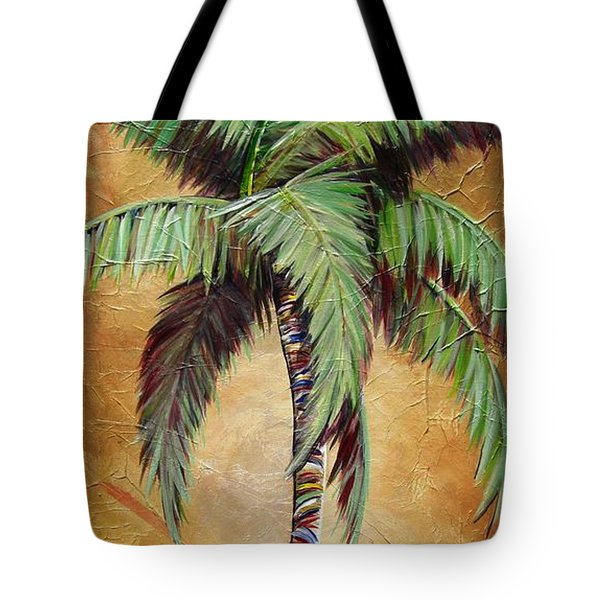 Mellow Palm II Tote Bag by Kristen Abrahamson