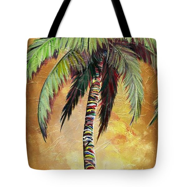 Mellow Palm IIi Tote Bag by Kristen Abrahamson