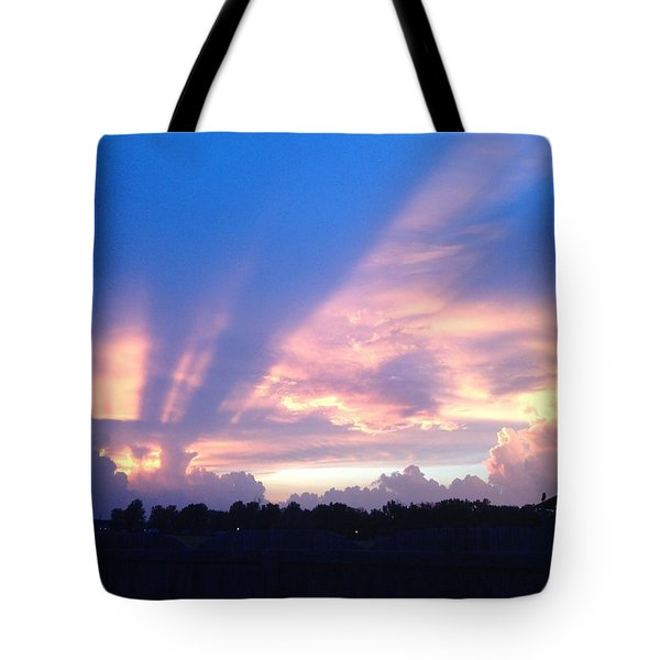 Mellow Sunset Tote Bag