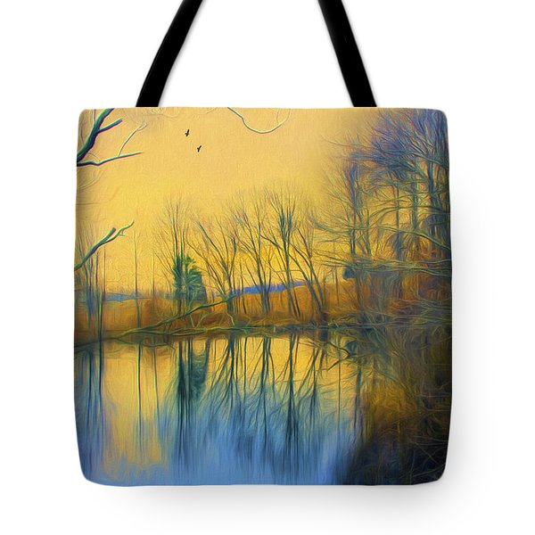 Mellow Yellow Tote Bag by John Rivera