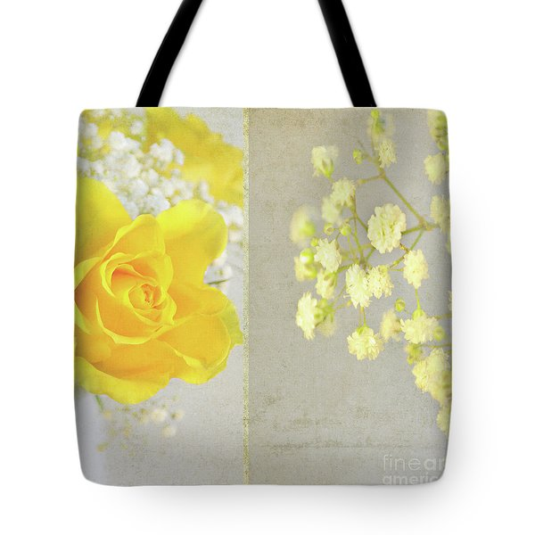 Tote Bag featuring the photograph Mellow Yellow by Lyn Randle