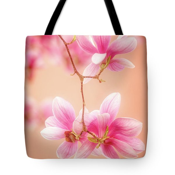 Melodies Of Spring  Tote Bag