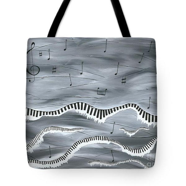 Melody Tote Bag by Kenneth Clarke
