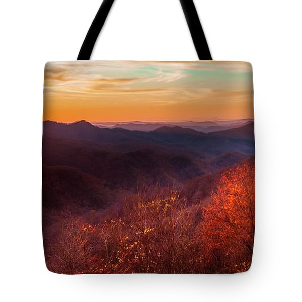 Melody Of Autumn Tote Bag