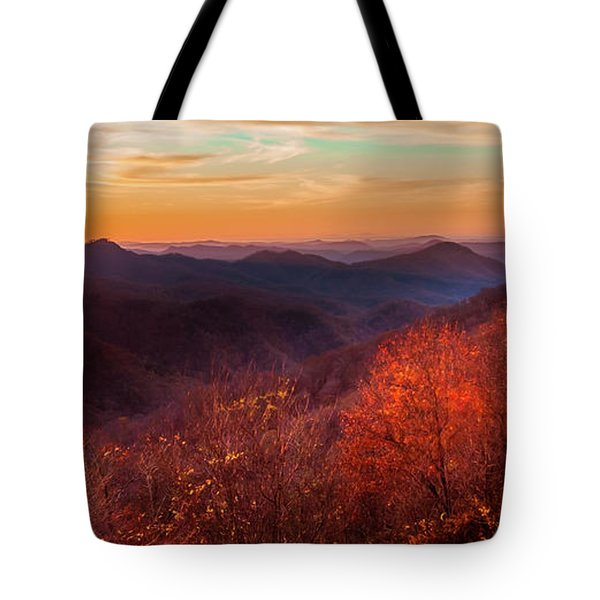 Tote Bag featuring the photograph Melody Of Autumn by Karen Wiles
